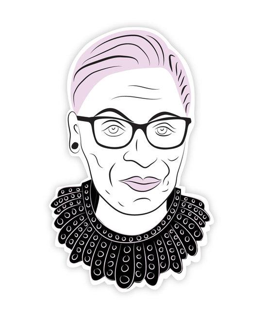 Boss Dotty - BD Ruth Bader Ginsburg RBG Head Sticker