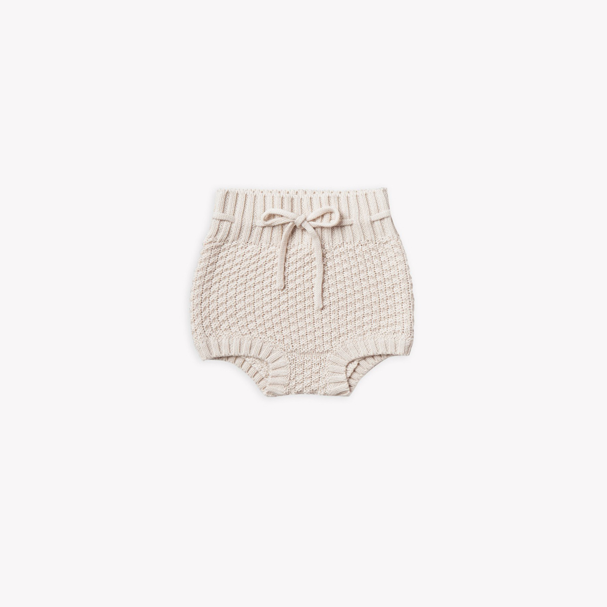 Quincy Mae - QM Quincy Mae - Knit Tie Bloomer in Pebble