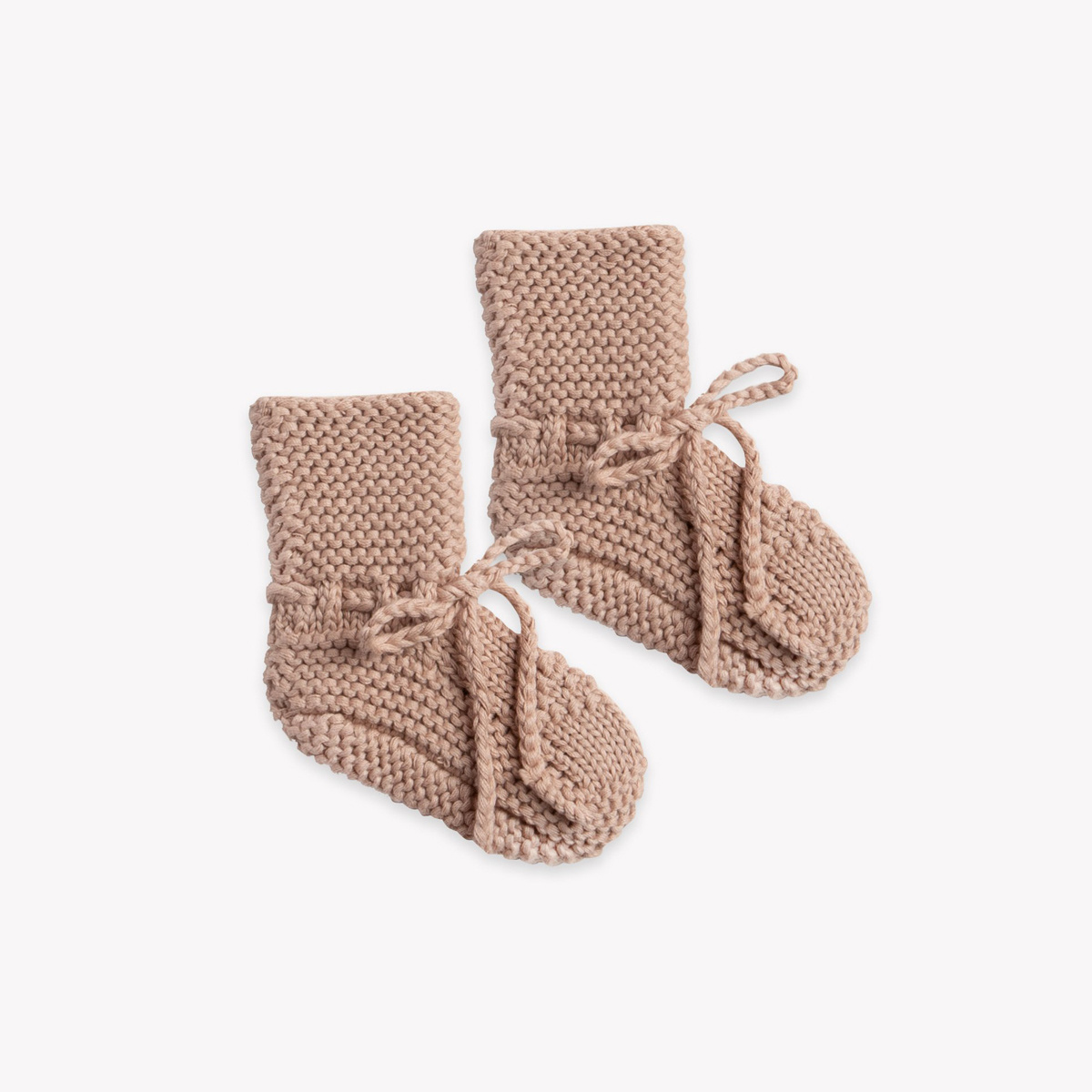 Quincy Mae - QM Quincy Mae - Knit Booties in Petal