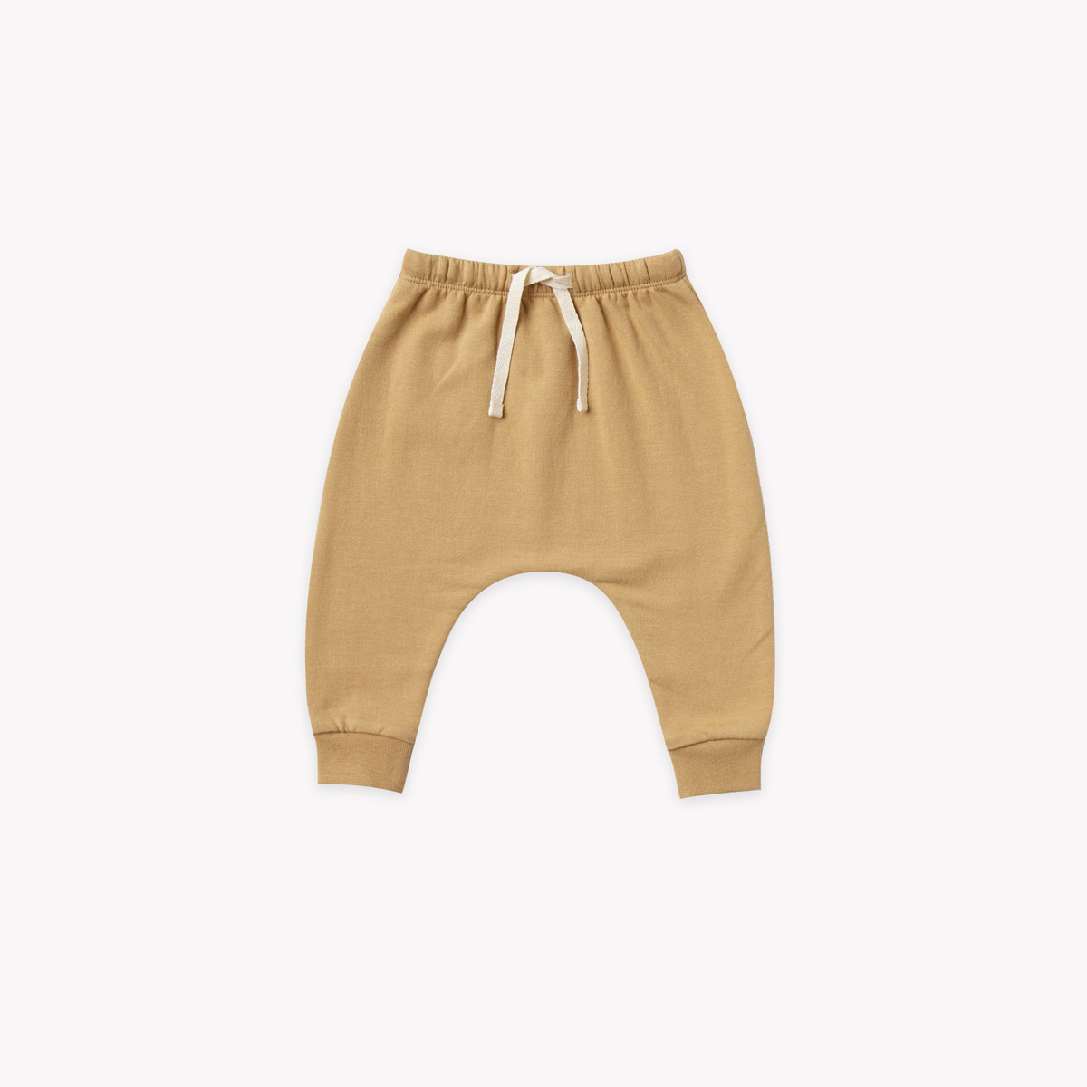 Quincy Mae - QM Quncy Mae - Fleece Sweatpant in Honey