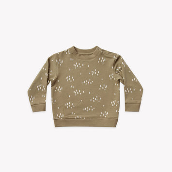 Quincy Mae - QM Quincy Mae - Fleece Basic Sweatshirt in Olive