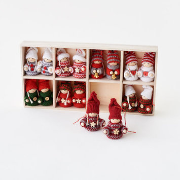 One Hundred 80 Degrees - 180 Sweater Folk Ornament, Assorted Styles