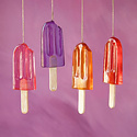 One Hundred 80 Degrees - 180 Popsicle Ornament - assorted colors