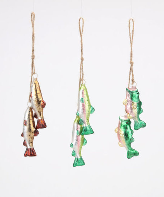 One Hundred 80 Degrees - 180 Fish Dangle Ornament