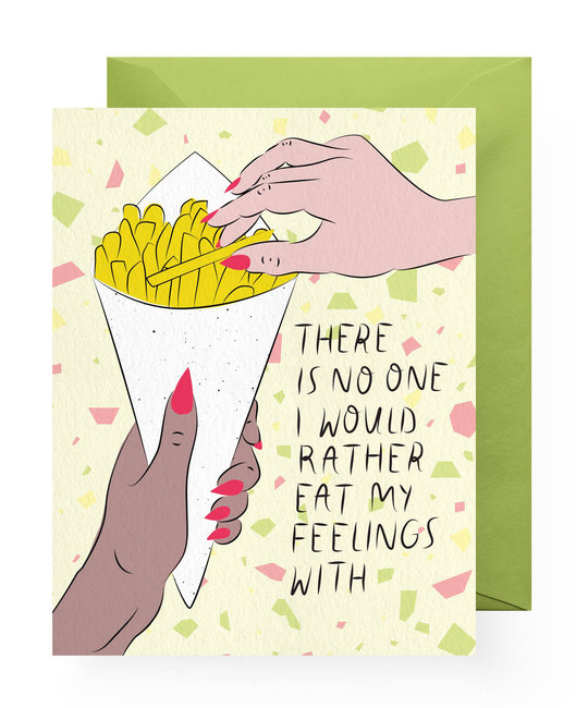 Boss Dotty - BD Emotional Eating Card