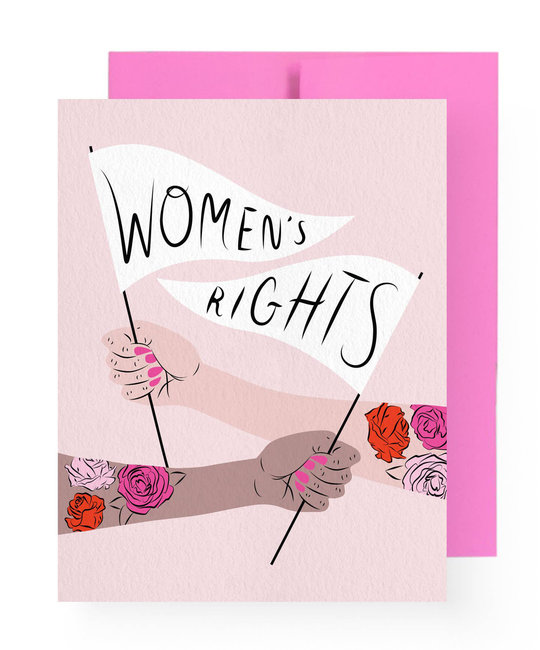 Boss Dotty Women's Rights Card