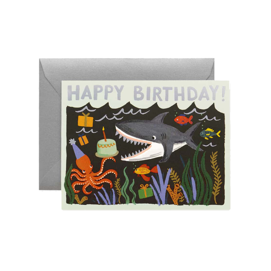 Rifle Paper Co - RP Shark Birthday Card