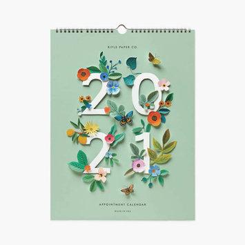 Rifle Paper Co - RP 2021 Cut Paper Vertical Appointment Calendar