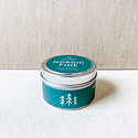 Gus and Ruby Letterpress - GR Gus and Ruby Nordic Pine Tin Candle
