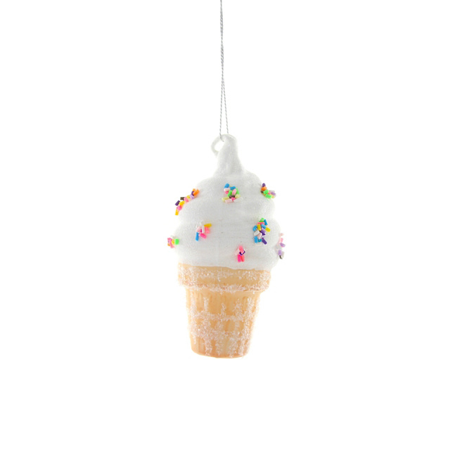 Cody Foster - COF Soft Serve Ice Cream Cone Ornament