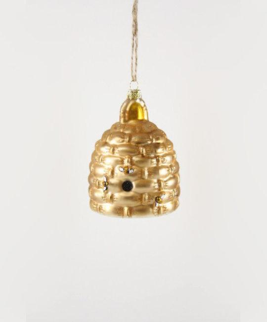 Cody Foster - COF Woven Bee Hive Ornament
