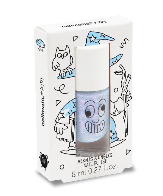 Nailmatic - NAI Kids Merlin Pearly Blue Nail Polish
