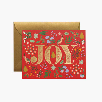 Rifle Paper Co - RP Rifle Paper - Partridge Joy Card