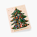 Rifle Paper Co - RP Rifle Paper - Trimmed Tree Card