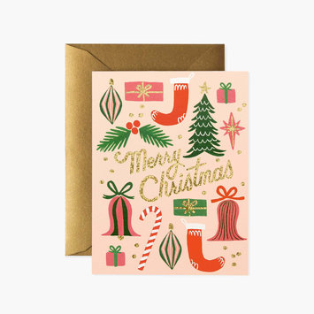 Rifle Paper Co - RP Rifle Paper - Deck The Halls Card