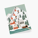 Rifle Paper Co - RP Rifle Paper - Holiday Snow Scene Card