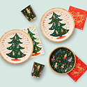 Rifle Paper Co - RP Rifle Paper - Nutcracker Small Plates, set of 10