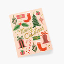 Rifle Paper Co - RP Rifle Paper - Deck The Halls Note Set