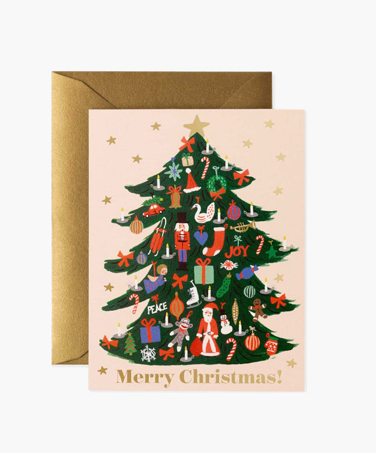 Rifle Paper Co - RP Rifle Paper - Trimmed Tree Note Set