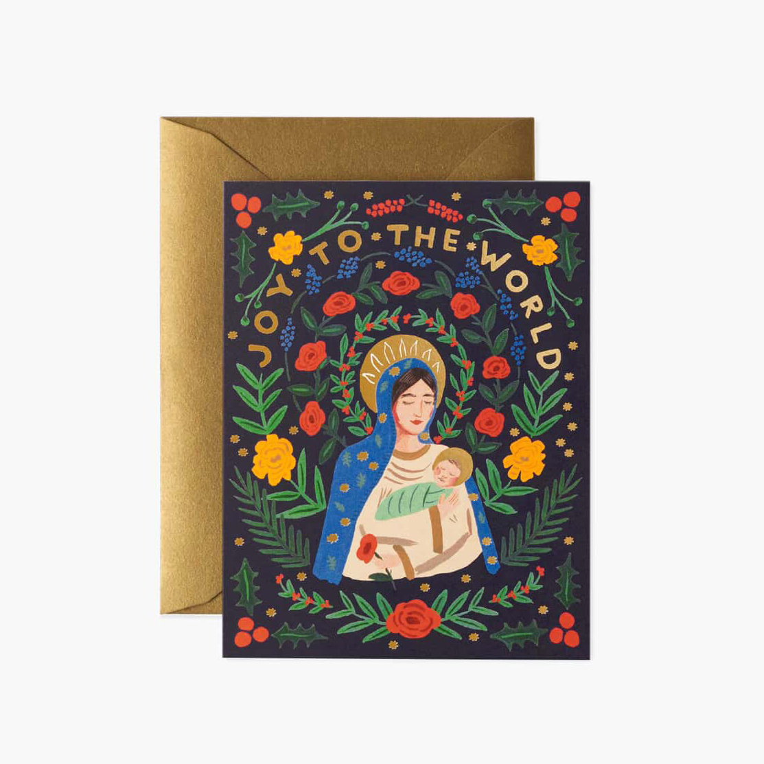 Rifle Paper Co - RP Rifle Paper - Madonna & Child Note Set