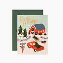 Rifle Paper Co - RP Rifle Paper - Holiday Tree Farm Note Set