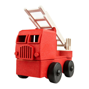 Luke's Toy Factory  - LTF Luke's Toy Factory - Red Fire Truck