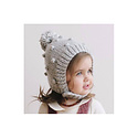 The Blueberry Hill - BH Bowie Knit Bonnet, Gray, 0-3 month