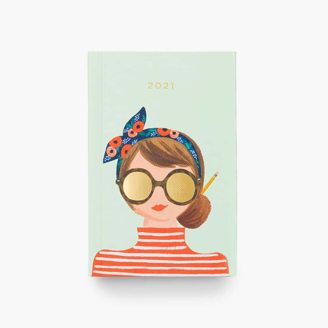 Rifle Paper Co - RP Rifle Paper - 2021 Hair Bow Pocket Planner