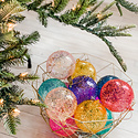 "One Hundred 80 Degrees - 180 4"" Rainbow Stubble Assorted Ornament"