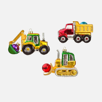 One Hundred 80 Degrees - 180 Assorted Construction Ornament