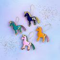 One Hundred 80 Degrees - 180 Assorted Beaded Unicorn Ornament