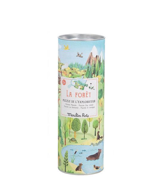 Moulin Roty MRTO - Le Jardin - La Foret 96 piece puzzle