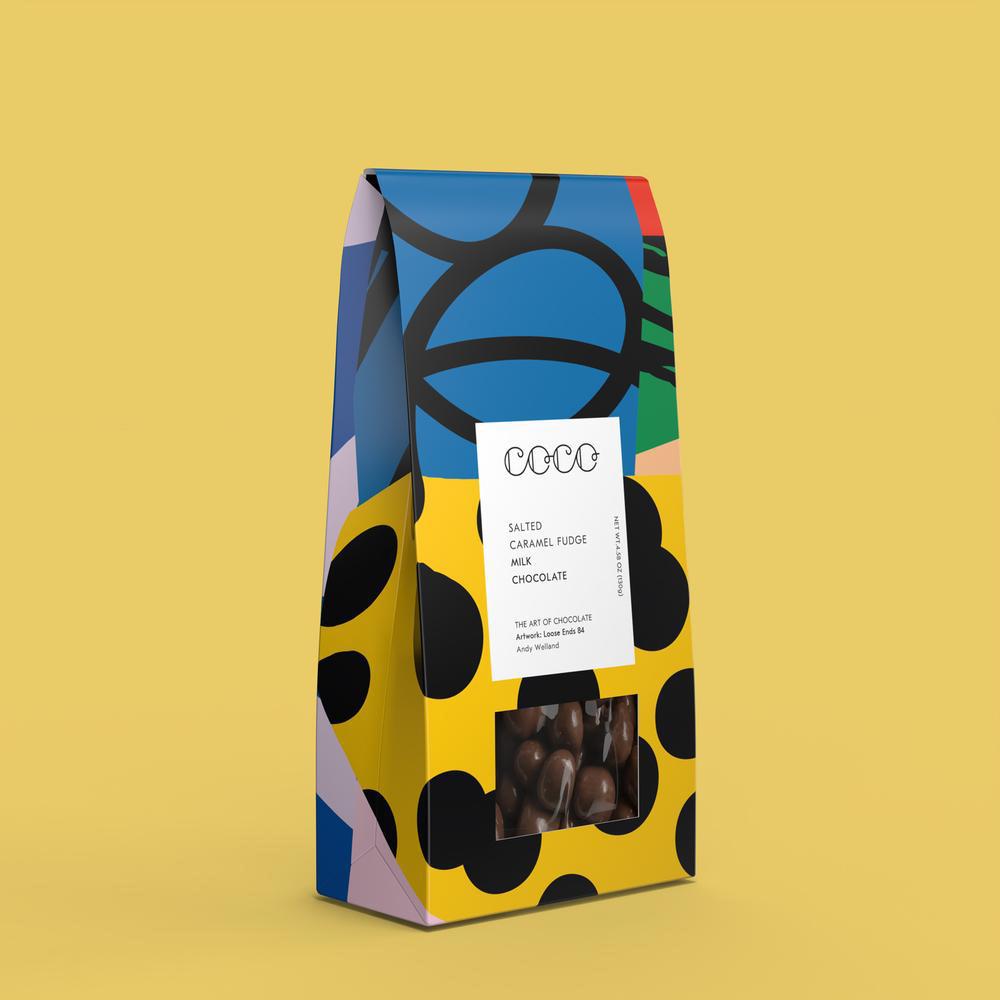 Coco Chocolatier Salted Caramel Fudge