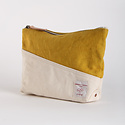 IMMODEST COTTON x Fleabags Immodest Cotton Bicolor Sardine Pouch, Saffron