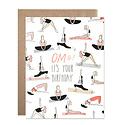 Hartland Brooklyn - HAR Omg Yoga Birthday Card