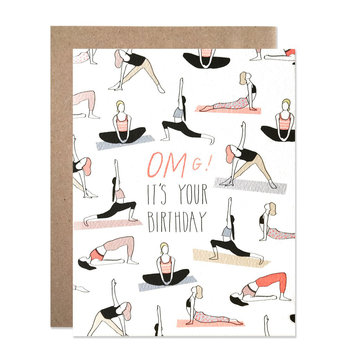 Hartland Brooklyn - HAR Omg Yoga Birthday Card