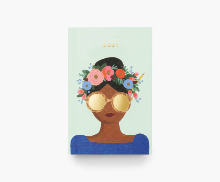 Rifle Paper Co - RP Rifle Paper - 2021 Flower Crown Pocket Planner