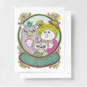 Yellow Owl Workshop - YOW YOWGCBI0016 - Forever Friend Riso