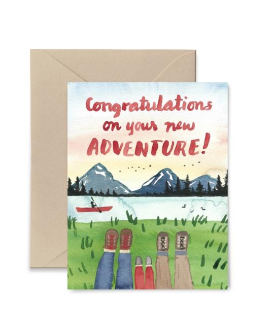 Little Truths Studio - LTS LTSGCBA0004- Congratulations on Your New Adventure