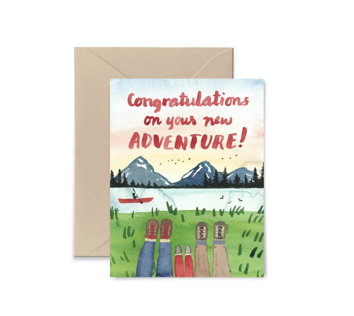 Little Truths Studio - LTS LTSGCBA0004- Congratulations on Your New Adventure