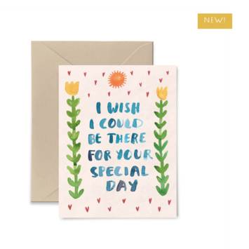 Little Truths Studio - LTS LTSGCWE0002 - Wish I Could Be There For Your Special Day