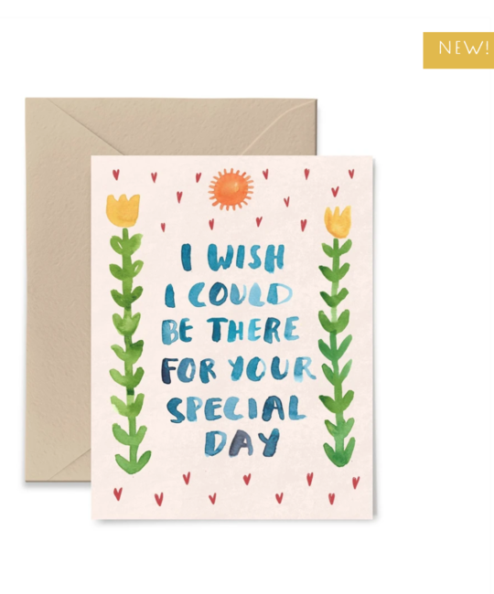Little Truths Studio - LTS LTSGCMI0002 - Wish I Could Be There For Your Special Day