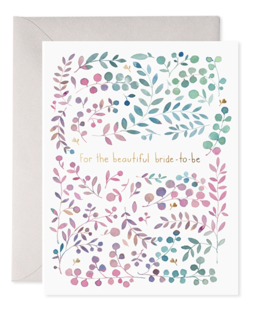 E. Frances Paper Studio - EF EFGCBS0001 - Bride to Be