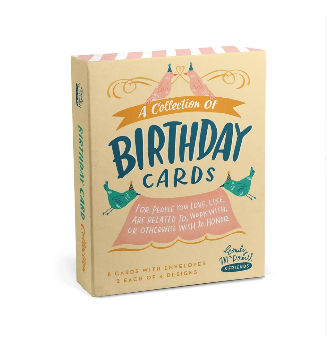 Emily McDowell - EMM EMM NS - Birthday Cards, Box Set of 8