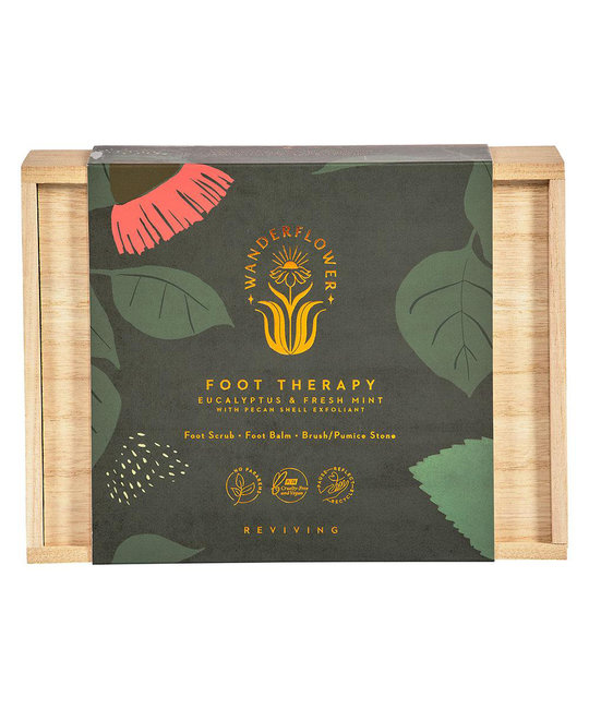 Wanderflower Foot Therapy Gift Set