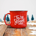Pen and Paint - PEPA 'Tis the Season: Ceramic Red Mug