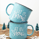 Gus and Ruby Letterpress - GR Let It Snow Hot Cocoa Gift Box