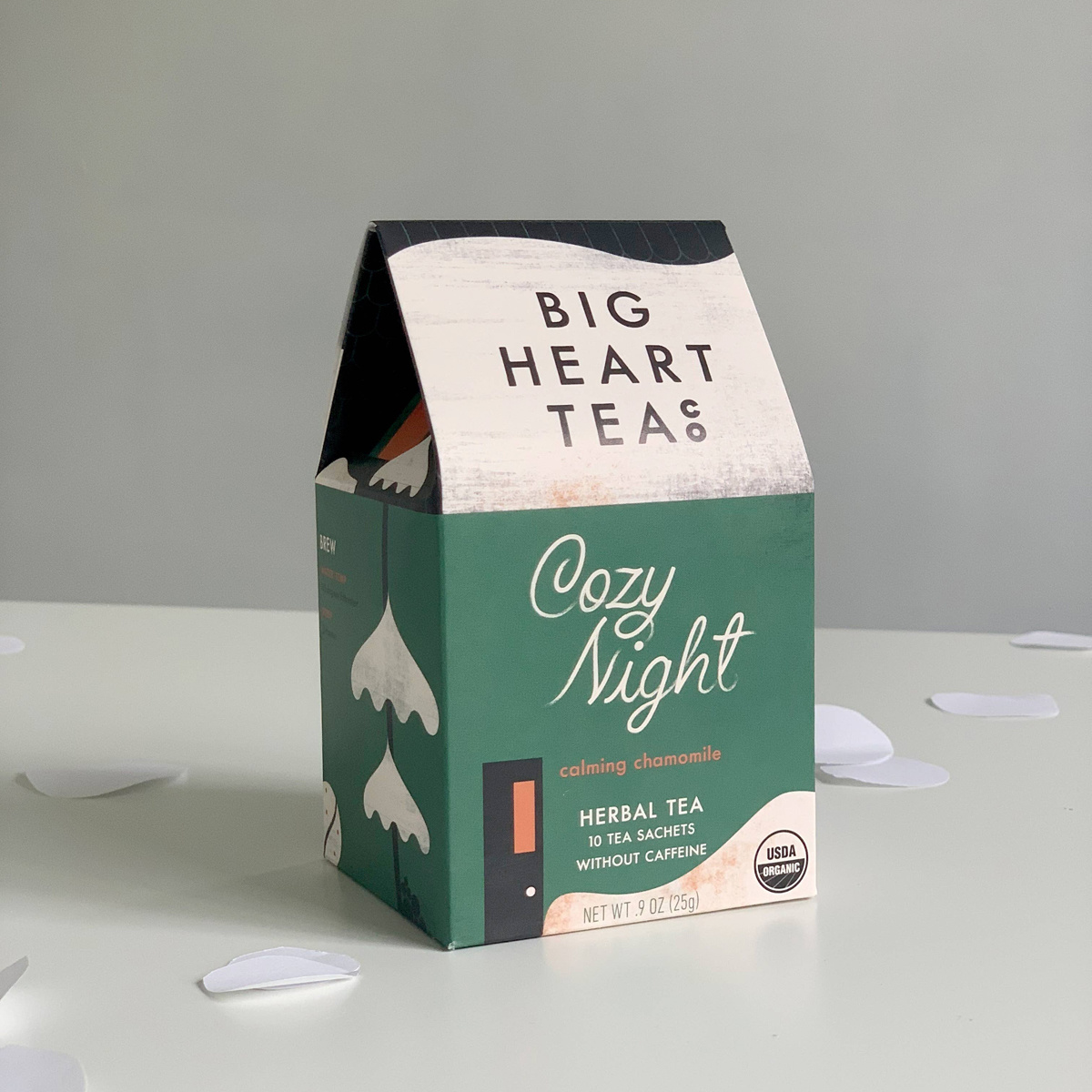 Big Heart Tea - BHT Cozy Night Organic Chamomile Tea