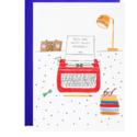 Mr. Boddington's Studio - MB MBGCBI0053 -Royal Typewriter Birthday