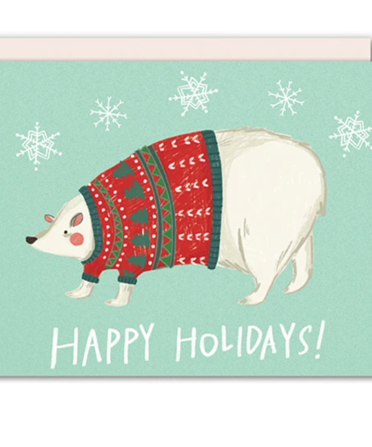 Pencil Joy - PJ PJGCHO0003 - Happy Holidays Polar Bear